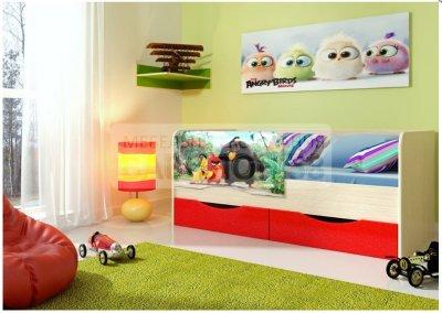 Детская кровать Angry 1.6м - 7000 рублей