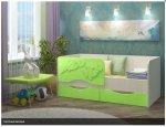 Детская кровать Дельфин2. 1.6м - 5600 рублей
