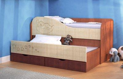 Кровать 2-х ярусная с выдвижной секцией. 14900 рублей