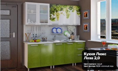 Кухня Люкс Лоза 2,0. 16400 рублей