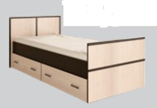 Подростковая Сакура. Кровать. 5400 рублей